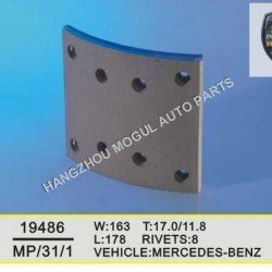 High Quality Brake Lining for Heavy Duty Truck Made in China (MP/31/