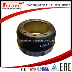 Heavy Duty Brake Drum for Hendred Trailer Td403