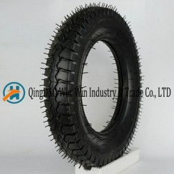 Pneumatic Rubber Wheel Used on Platform Trucks Wheel (4.00-12)
