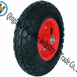 Wear-Resistant Rubber Wheel for Platform Trucks Wheel (3.50-6)