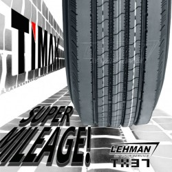 Low PRO / Low Profile Semi Truck Tire with Smartway DOT