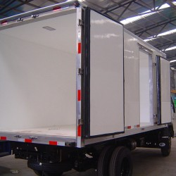 Hot Sale! ! Light Truck FRP Dry Van Body