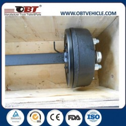 Trailer Wheels Parts and Trailer Tires Agricultural Trailer Axle