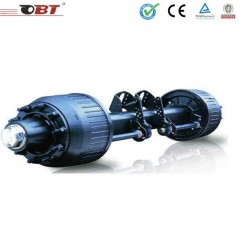 Obt Top quality 12t 14t 16t Semi-Trailer Axle for Sale