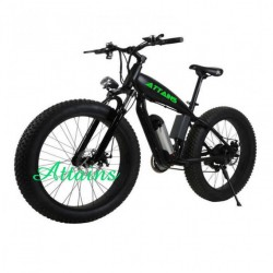 2018 New Model 48V 1000W Electric Fat Tire Bicycle