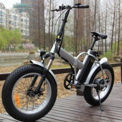 20 Inch Foldable Fat Tire Beach Bike