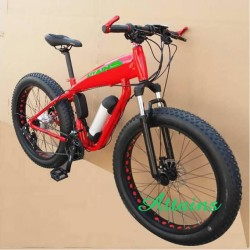 Beach Cruiser Fat Tire 26 Inch Snow Electric Bicycle