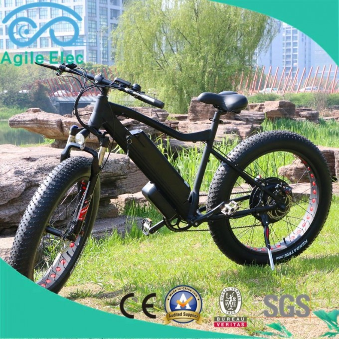 48V 500W Motorized Fat Tire Electric Bike with Lithium Battery Image1