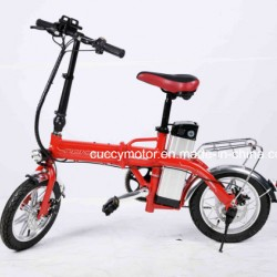 Foldable Portable 350W/500W Adult Mountain Electric Folding Bike with Pedals (Bosch)