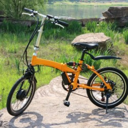 250W Small Power Foldable Electric Bicycle with 36V Hub Motor