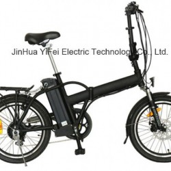 20 Inch Electric Foldable Bicycle with Lithium Battery for Trip