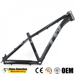 2018 Spare Bicycle Parts carbon MTB Frame with Bb68mm Threaded
