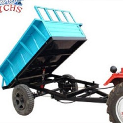 Two Wheels Tipping Trailer Most Popular in China