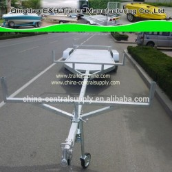 Wholesale Buy Factory Made Galvanized and Hydraulic 7.3m Pole Trailer (BCT0108AU)