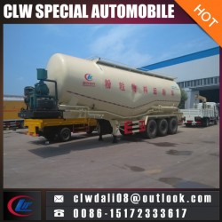 3 Axle Semi Trailer Truck, Powder Tank Semi Trailer Truck for Sale