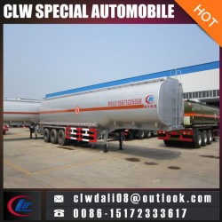 3 Axle Semi Trailer for Corrosive Liquid Delivery, Tank Semi Trailer Truck for Sale