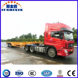 40FT 3 Axles Skeleton Chassis Utility/Cargo Container Truck Semi Tra