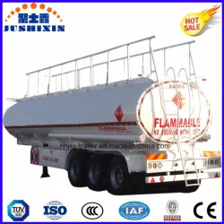 3axle Carbon Steel 45000L Fuel Utility Tanker Truck Semi Trailer