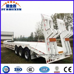 China Trailer Manufacturers Lowboy Semi Truck and Trailer