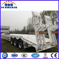 3 Axles 80t Low Bed Heavy Truck Semi Trailer