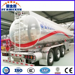 Light Weight Design 45-60cbm Aluminum Fuel Tank/Tanker/Utility Truck Semi Trailer