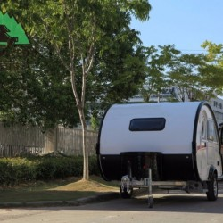Teardrop Campers; Car Camping Trailer; Trailer Small
