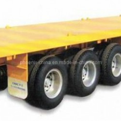 40feet Flatbed Container Semi Trailer 3 Axles for African Market
