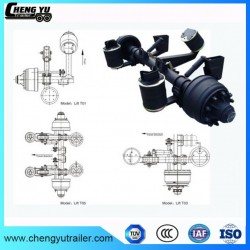 High Quality Trailer Axle with Lift Air Suspension