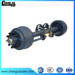 Amercian Type Round 127 Beam 13t Trailer Axles for Agricultural Trailers