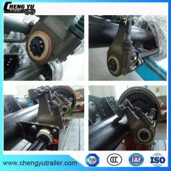 Europe Type Axle 12t 14t for Truck Trailer with Auto Slack Adjuster