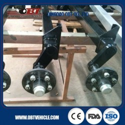 750 Kg Rubber Material Torsion Axle for Travel Trailer
