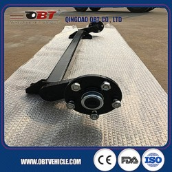 750 Kg Travel Trailer Use Torsion Rubber Axle Without Brake