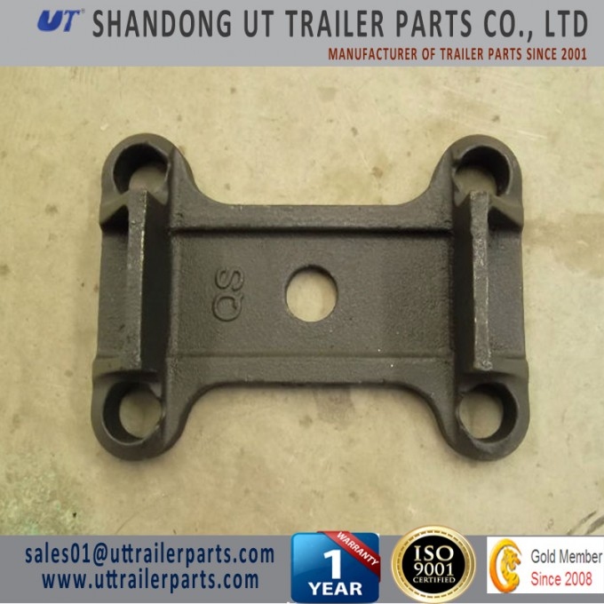 BPW Suspension Spring Clamp Plate Good Quanlity Trailer Parts Image1