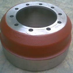 Semi Trailer Axle Parts Drum Brake System