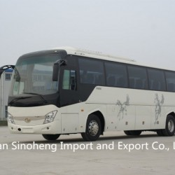 Hot Sale 12m Shaolin 55-60seats Front Engine Bus Diesel and CNG