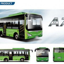 7.2m Electric City Bus, Full Electric Bus