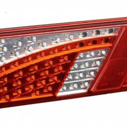 LED Truck Combination Tail Lights Comercial Vehicle Rear Lamp E-MARK Approval