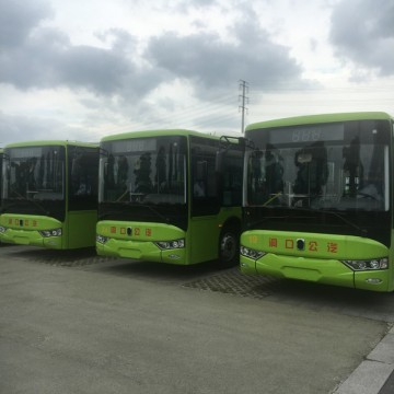 Classic Electric 10 Meters Bus Tourist Bus with Battery SystemImage