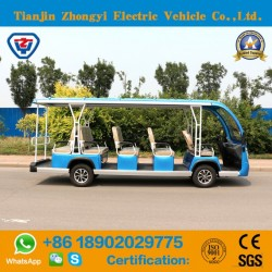 Zhongyi New Design 14 Seats Electric Scooter Bus with High Quality