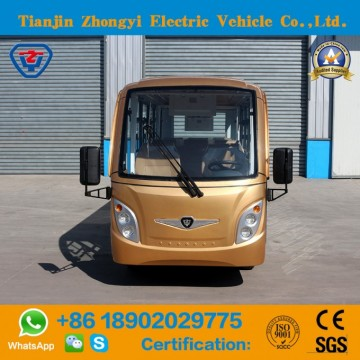 Wholesale 14 Seats Enclosed Electric Shuttle Bus with Ce and SGS CertificationImage