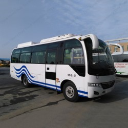 Rhd/LHD 7.5m 31-35seats 140HP Tourist Bus Shuttle Bus