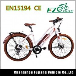 New Model Green City Lady Comfortable Electric Bike
