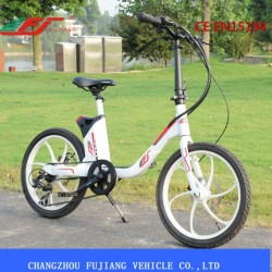 250W Light Weight Female Electric Powered Bike