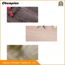 PVC Flooring with Wood Grain Used for Office Building, Meeting Room,