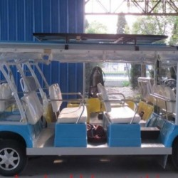 Electric Shuttle Bus, Mini Electric Train, CE Approved, Eg6158k