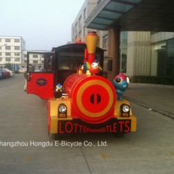 62 Seats Tourist Sightseeing Electric Train for Park or Resort