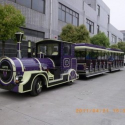 Amusement Electric Trackless Train for Parks, Shopping Mall