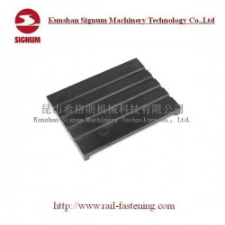 Rail Rubber Pad and Rail Pad for Railway Track Fastening