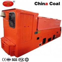 China Coal Mining Use Diesel Engine Power Locomotive for Mining