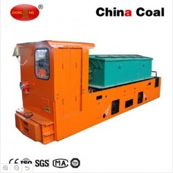 Manufacturer 2.5t Mining Electric Battery Operated Locomotive